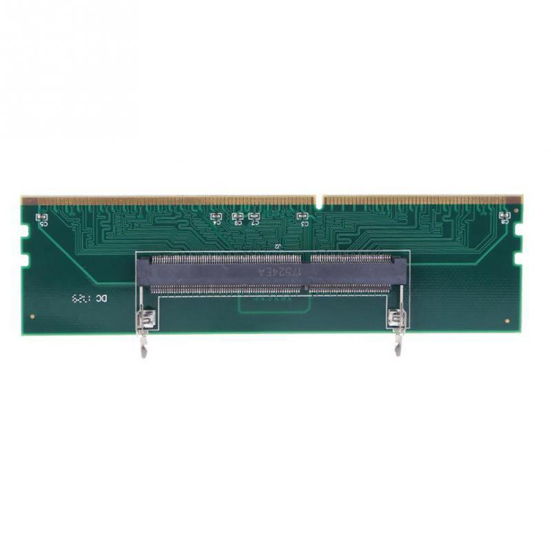 DDR3 SO DIMM To Desktop Adapter DIMM Connector Memory  Adapter Card 240 To 204P Computer Memory Adapter Card