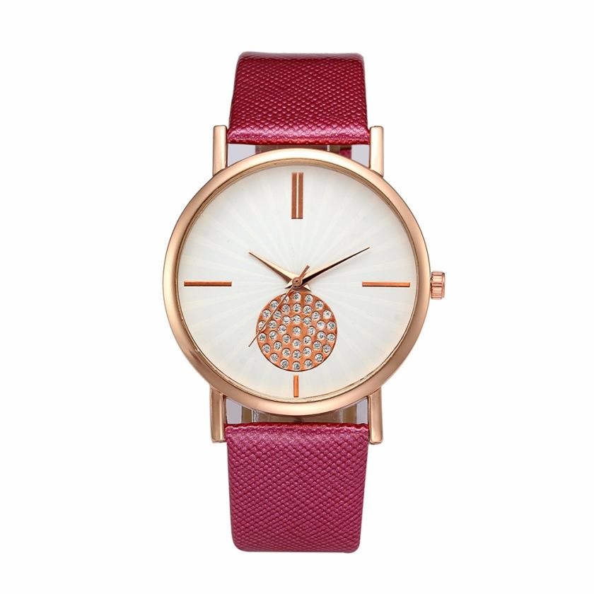 Silicone Strap Ladies Quartz Wristwatch Luxury Female Clock Top brand luxury lady watche ...