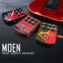 Acoustic Guitar Electric Guitar Bass Effects Stompbox Pedal Analog Dedicated Moen Buffalo Multi Voice Video Recording