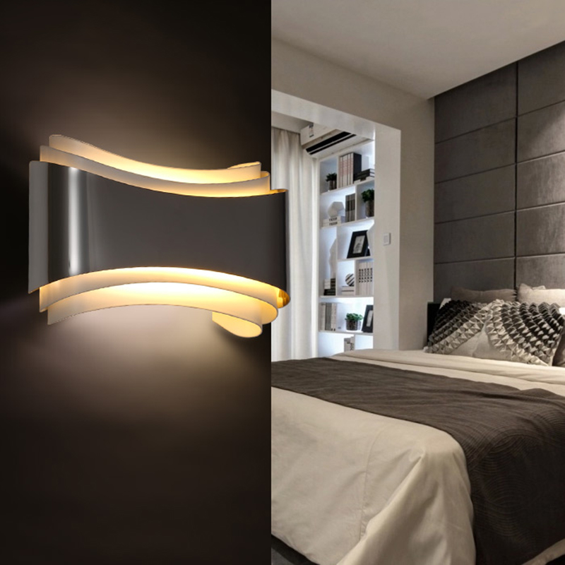 bedroom wall lights modern led sconce wall lights for bedroom study room 10739