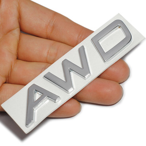 Image 4 - 3D Metal T5 T6 AWD LOGO Emblems Badges Car Sticker Letter Decal Car Styling for Volvo XC60 XC90 S60 S80 S60L V40 V60 Tail Fender