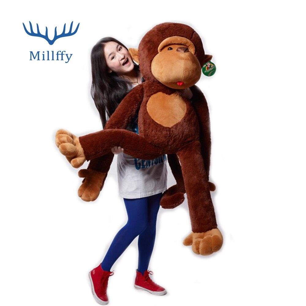 Millffy Cute Giant Monkey Soft Plush Toy 130cm 427 Ft