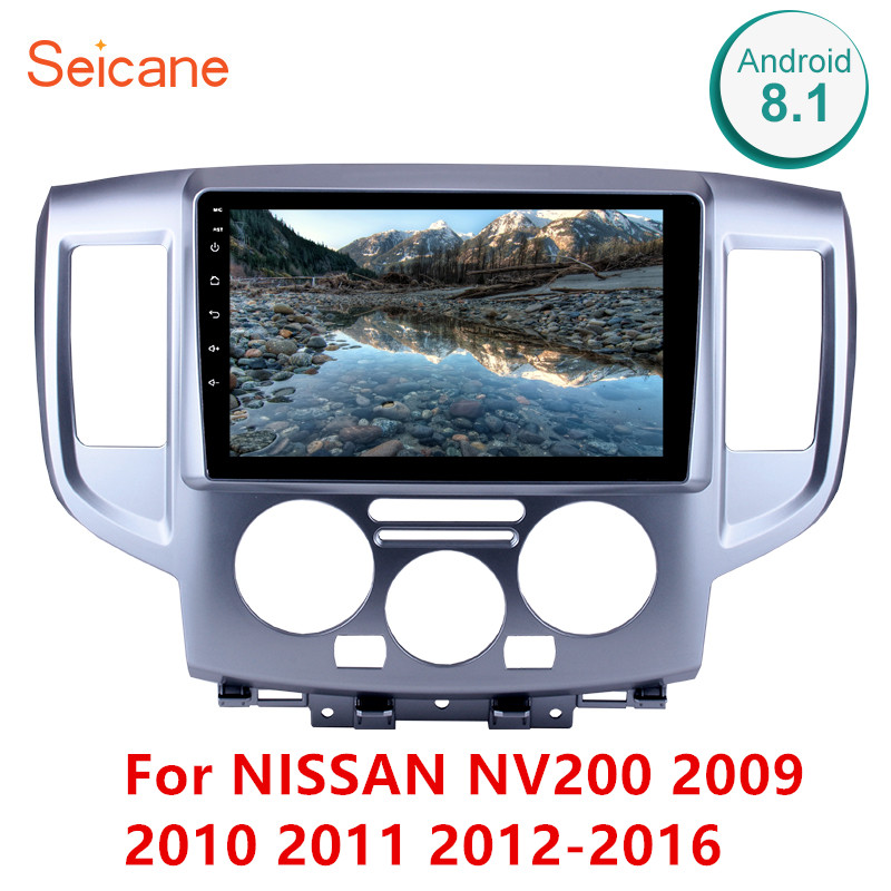 Seicane 9 Inch 2Din Android 8.1 Head Unit Car Radio Stereo WiFi GPS Multimedia Player For NISSAN NV200 2009 2010 2011 2012 2016