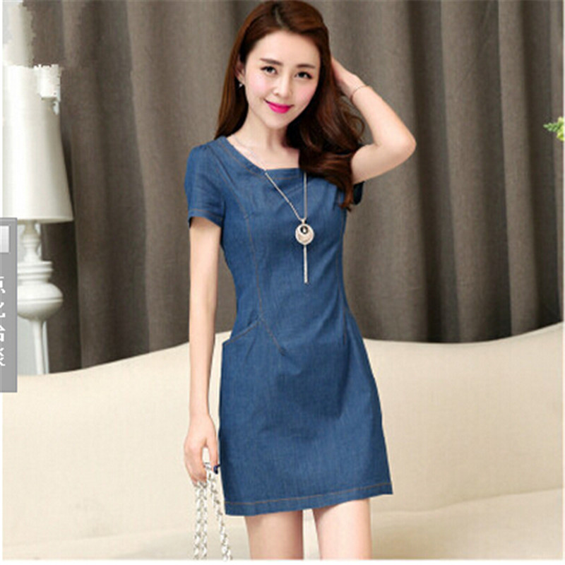 Compare Prices on Denim Women Dress- Online Shopping/Buy Low Price ...