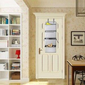 Image 5 - 4 ポケットドア壁ストレージオーガナイとフック省スペースホルダー収納袋おもちゃでクローゼットベッドルーム、リビングルーム