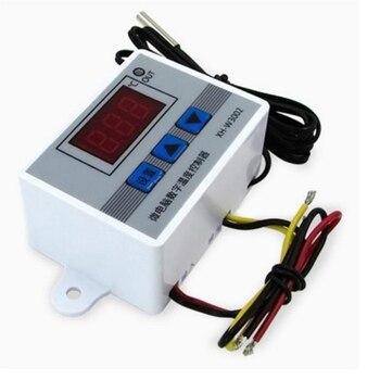 High Quality AC 220V 12V 24V 10A Intelligent Digital Thermostat -50~110C Digital Temperature Controller Regulator Switch secadora plancha rizadora