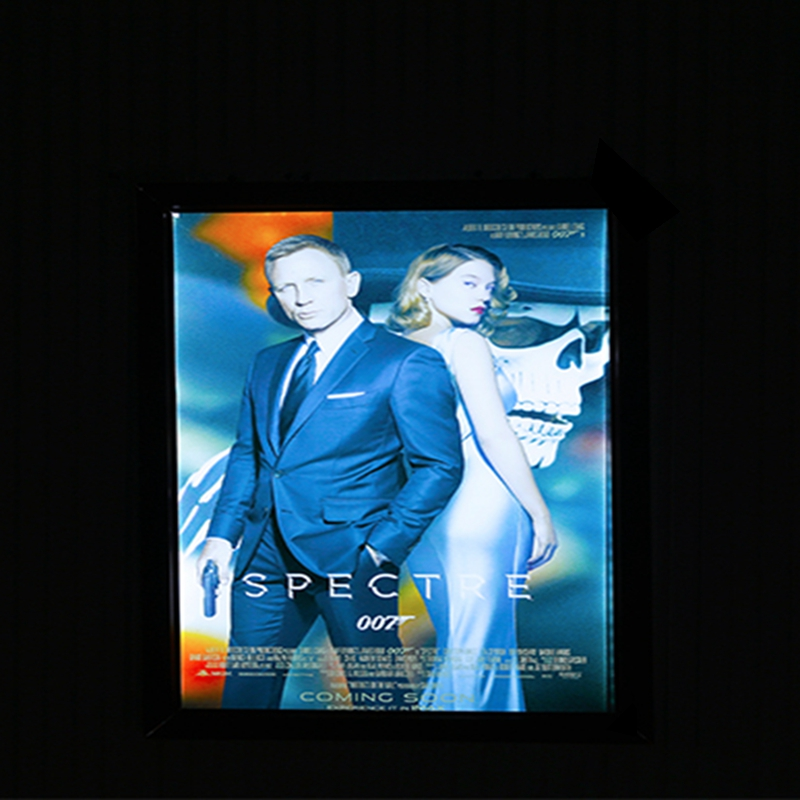 graphic home theater lighting. home theater aluminum snap frame led lighting movie poster light box a1 cinema wall mounted slim in advertising lights from u0026 graphic
