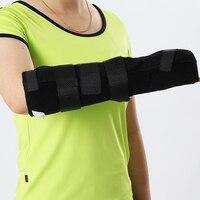 1 יחידות זכות אוניברסלית מתכוונן זרוע סד פרק כף היד והאמה תיקון ישור היד Brace תמיכה חיצונית קבועה, לשני המינים