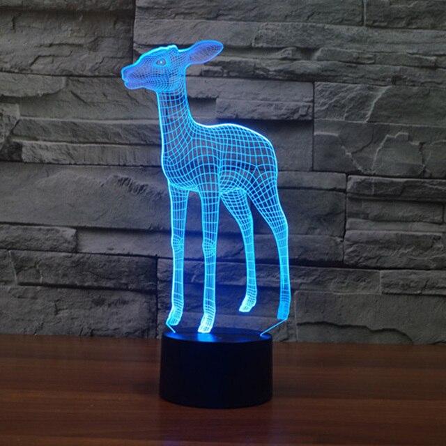 lamparas led de escritorio Deer Night Light For Bedroom