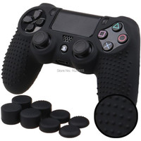 IVY QUEEN 9 In 1 For Dualshock 4 PS4 Slim Pro Controller Studded Skin Premium Protective