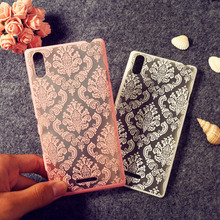 Case For Sony Xperia T3 S39H M5 M4 A9ua L39H Retro Hollw Flower Cover for L1 E4G E4 C6 C3 C1904 Bumper Funda