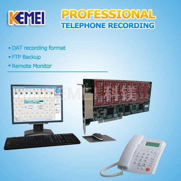 the system which support business phone call record