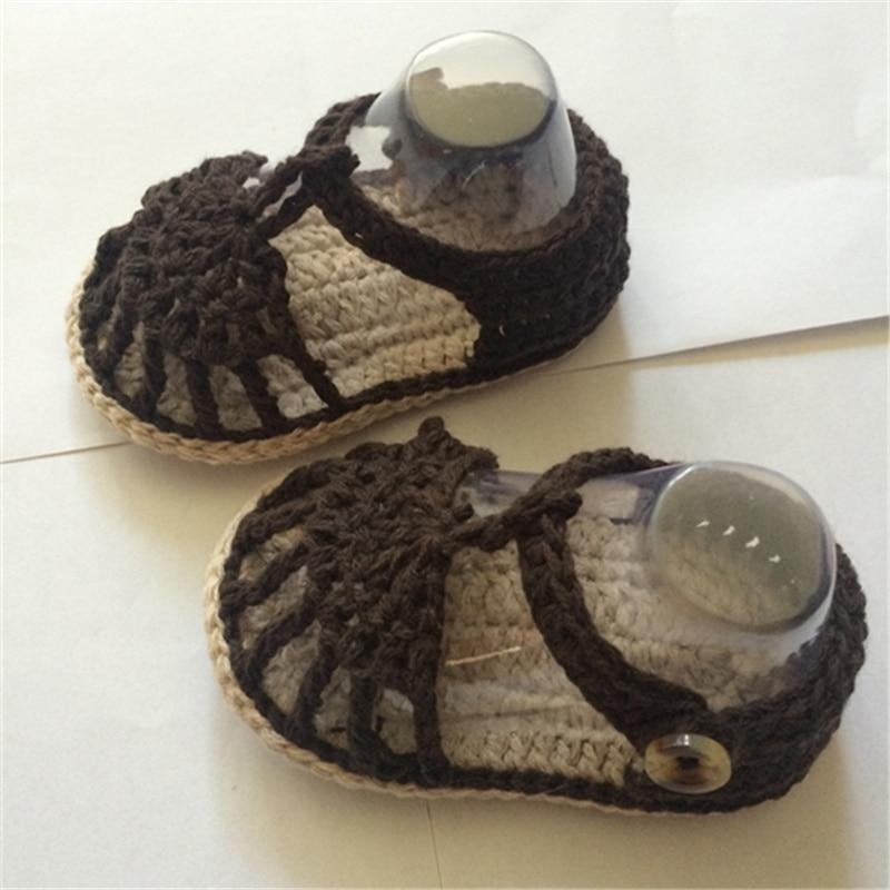 QYFLYXUE, Crochet Baby Flip Flop., Baby Summer., Crochet Baby mit - Babyschuhe - Foto 4