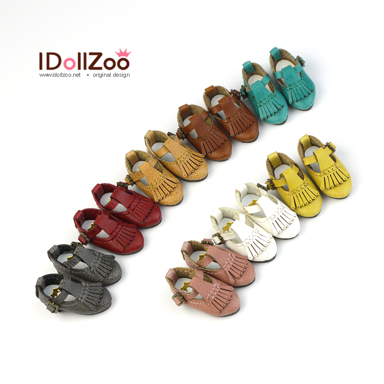 Free shipping British tassel shoe Doll shoes Doll clothes doll accessories for Blythe Azone Dal momoko