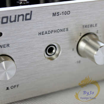 Nobsound MS-10D Tube Amplifier Audio Power Amplifier 25W*2 Vaccum amplifiers Support 110V or 220V Hifi amplificador Stereo