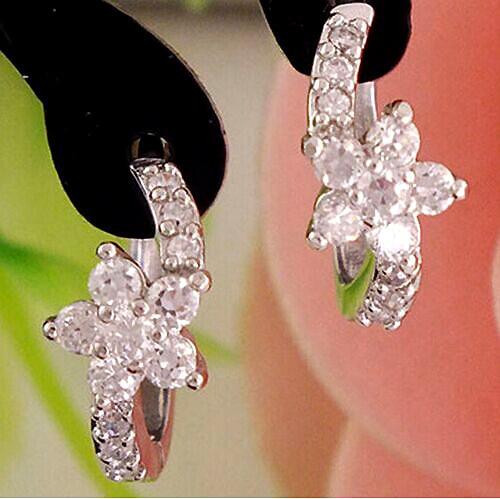 Zircon Stud Earrings For Women Earring Earings 925 Sterling Silver Jewelry Earing Brincos Brinco Oorbellen Pendientes Gift F245