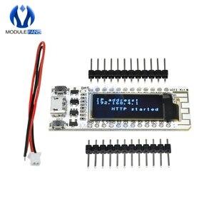 Image 4 - Internet van Ding CP2014 ESP8266 0.91 inch OLED 32 Mb Flash WIFI Module PCB Board voor Arduino NodeMcu IOT Development board