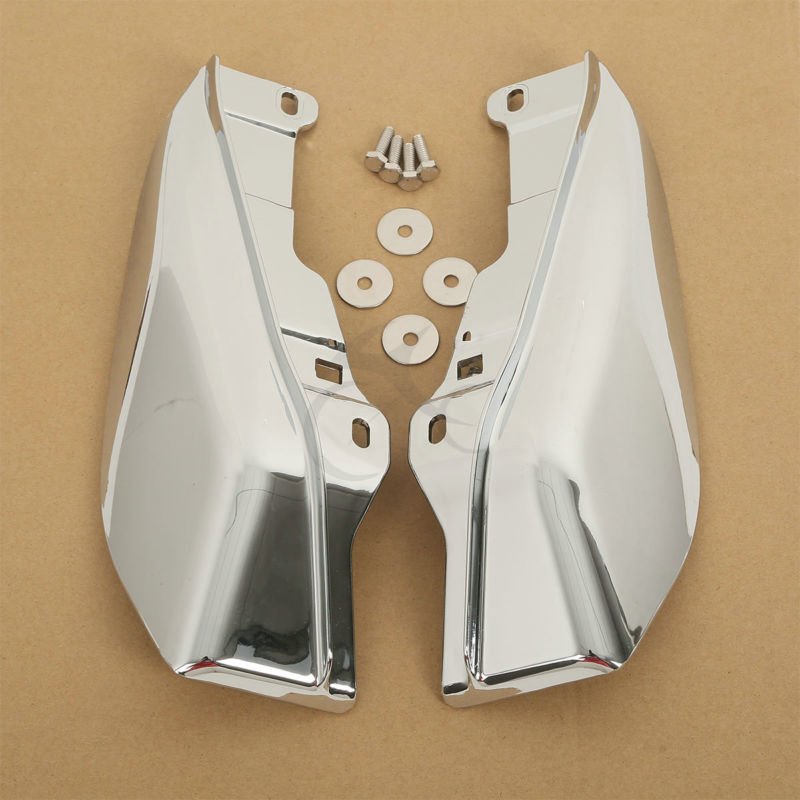 ABS Mid-Frame Air Deflectors For Harley Touring Models Ultra Limited FLHT FLTR FLHX CVO Road King Electra Street Tri Glide 09-16 напильник зубр 33392 200 120 эксперт с алмазным напылением полукруглый p120 200мм