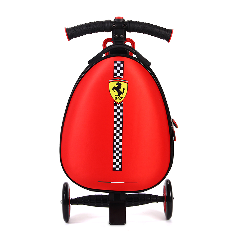 Kids scooter suitcase on wheels skateboard traveling luggage bags with wheels Boarding box