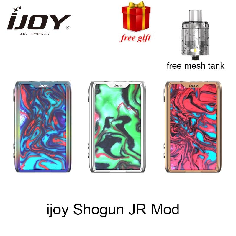 Cadeau gratuit Ijoy SHOGUN JR 126 W Vaporisateur TC Mod idéal pour SUBOHM réservoir Vaporisateur E cigarette mod avec UNIV puce- ensemble vs Shogun UNIV Mod