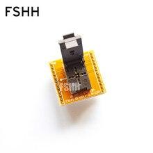 WSON12 для DIP12 программист адаптер QFN12 DFN12 MLF12 тест гнездо=0.5 мм=3х3мм