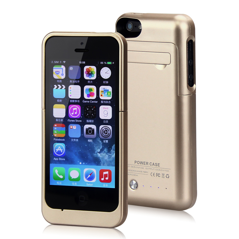 YOTEEN External Battery Charger Case For iPhone 5s Battery Case for iPhone SE Backup Battery Charger