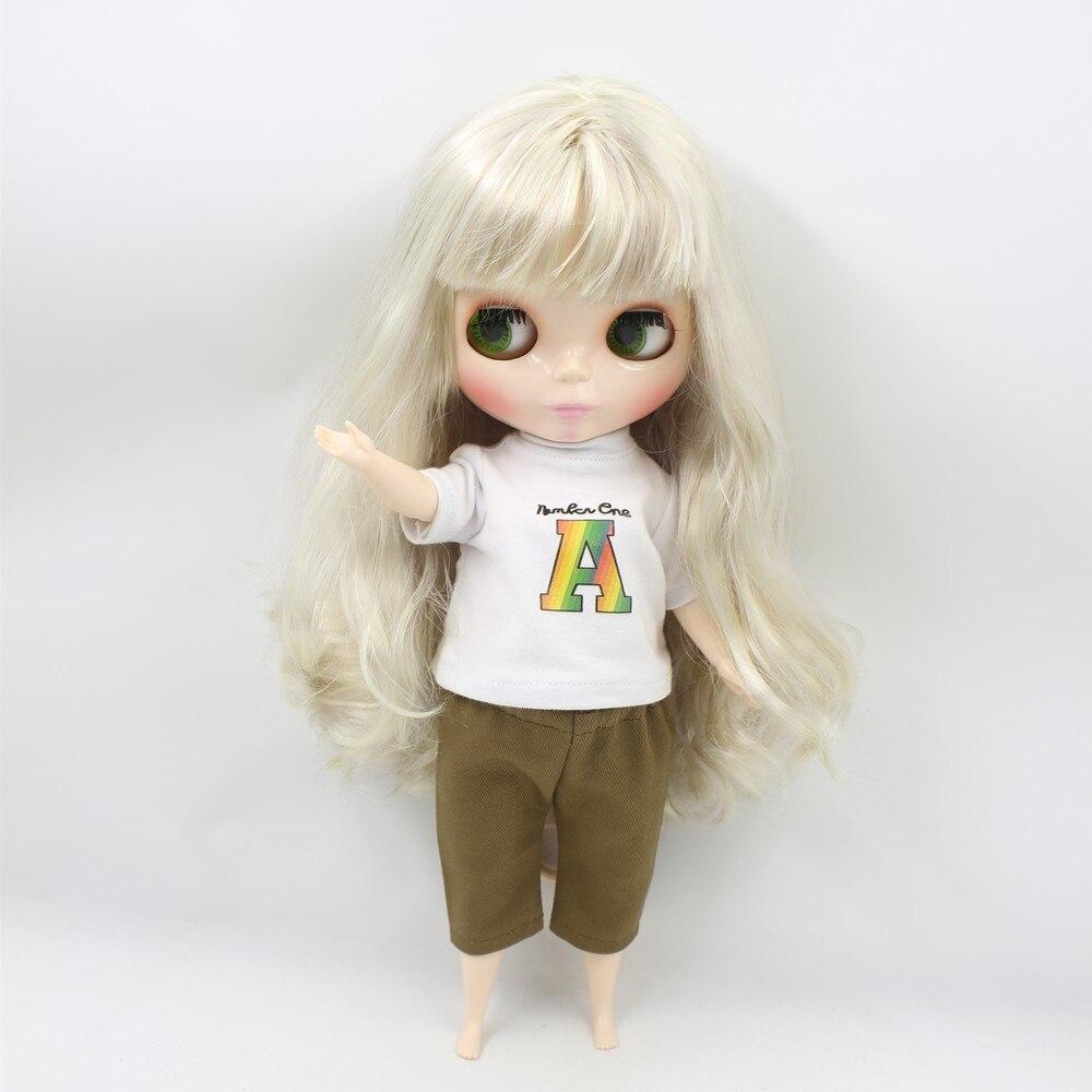 Neo Blythe Doll Blonde Hair Fat Body 2