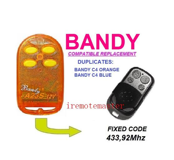 2pcs For BANDY C4 ORANGE,C4 BLUE remote duplicator free shipping 2pcs blue