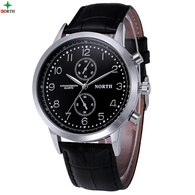 NORTH 2016 Quartz Watch Men Watches Top Brand Luxury Famous Wristwatch Reloje Hombre Male Clock Fashion Watch Men Quartz-Watch