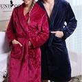 Men/Woman's Pajamas Robes Bathrobe Dressing Gown Autumn Winter Sleepwear Couple Pajamas Nightwear Nightgown Sleep Sexy Z1701