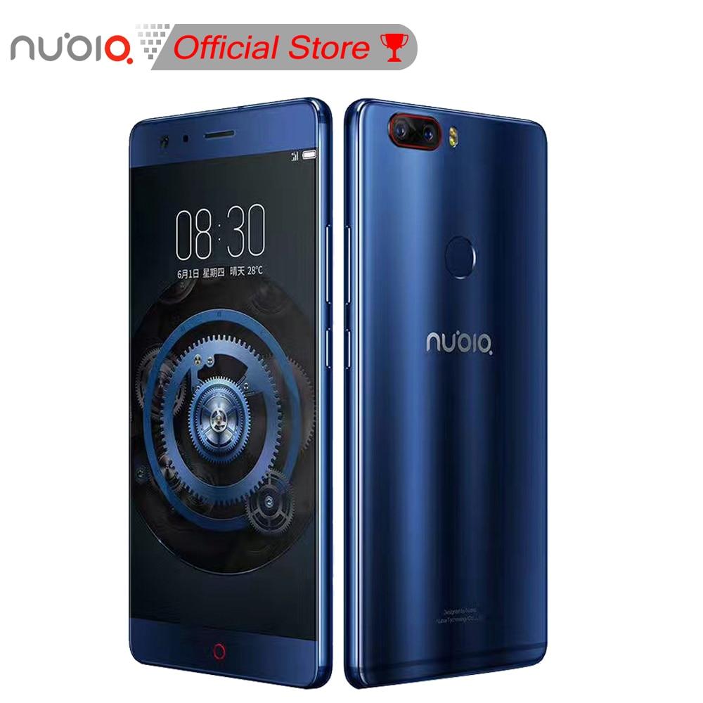 Original Nubia Z17 Mobile Phone 6GB RAM 64GB/128G ROM Octa Core 23.0MP+12.0MP Dual Back Cameras Fingerprint NFC 1920*1080 FHD
