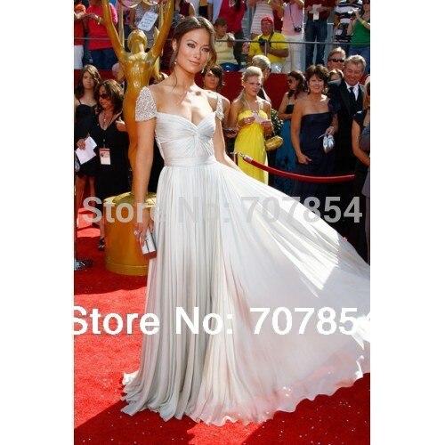 2014 New Olivia Wilde Prom Dress 2008 Prime time Emmy Award ...