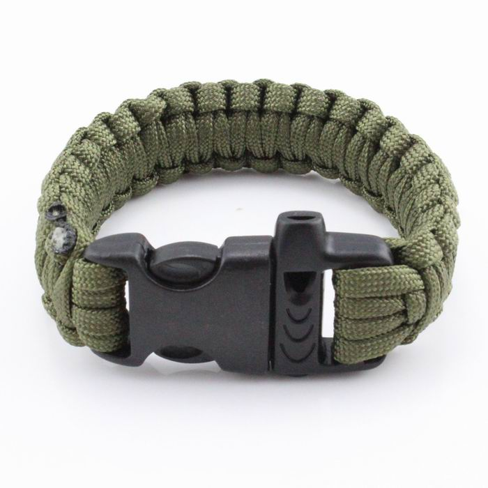 2018 New High Quality Mix Colors Parachute Cord Emergency Paracord Camping Survival Bracelet With Whistle Buckle