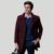Anbican Moda Homem Casacos Marca Misturas De Lã Único Breasted Fino Fit Homens do Revestimento de Ervilha Longo Trincheira Casaco de Inverno Plus Size M-XXXL
