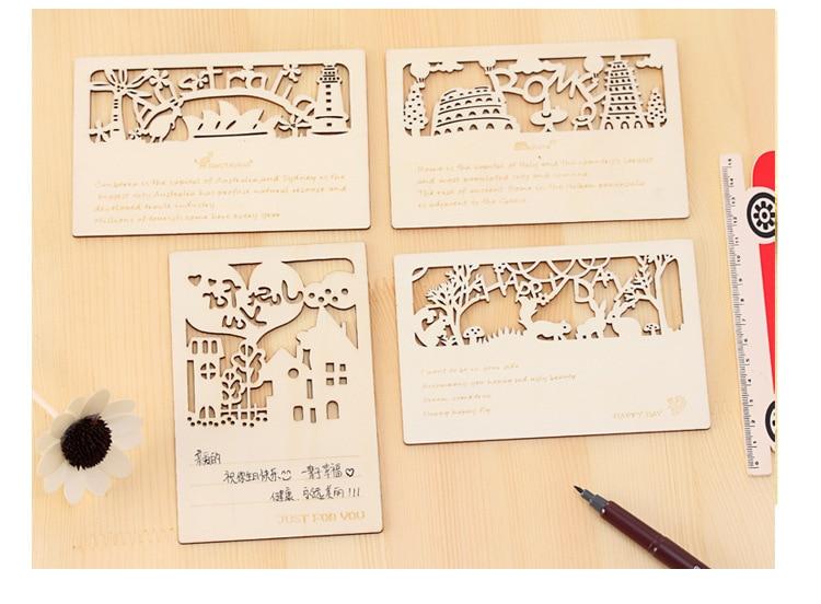 popular wood greeting cardsbuy cheap wood greeting cards lots, Greeting card