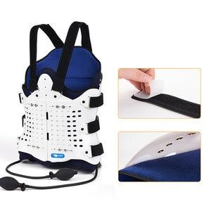 Image 5 - Подушка безопасности для поддержки спины, удобный бандаж для спины и плеч для мужчин и женщин, медицинское устройство для послеоперационного перелома, 1 комплект
