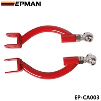 REAR ADJUSTABLE UPPER CAMBER CONTROL ARM KIT Red For 95 98 NISSAN S14 SKYLINE GTR R33 EP CA003
