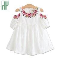 ילדי בגדי פעוטות ילדים קוריאני ללבוש את שמלת קיץ נערת נסיכה פרחוני הדפסת שמלת חוף שמלות ילדי מסיבת בנות תלבושות