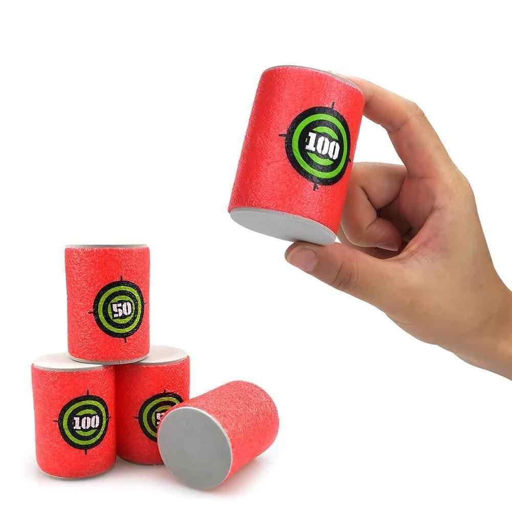 Pistolet do piany strzelać EVA miękki pocisk cel strzał Dart zabawki dla dzieci dla n-strike Elite gry dla blastery rzutki nowy 2019