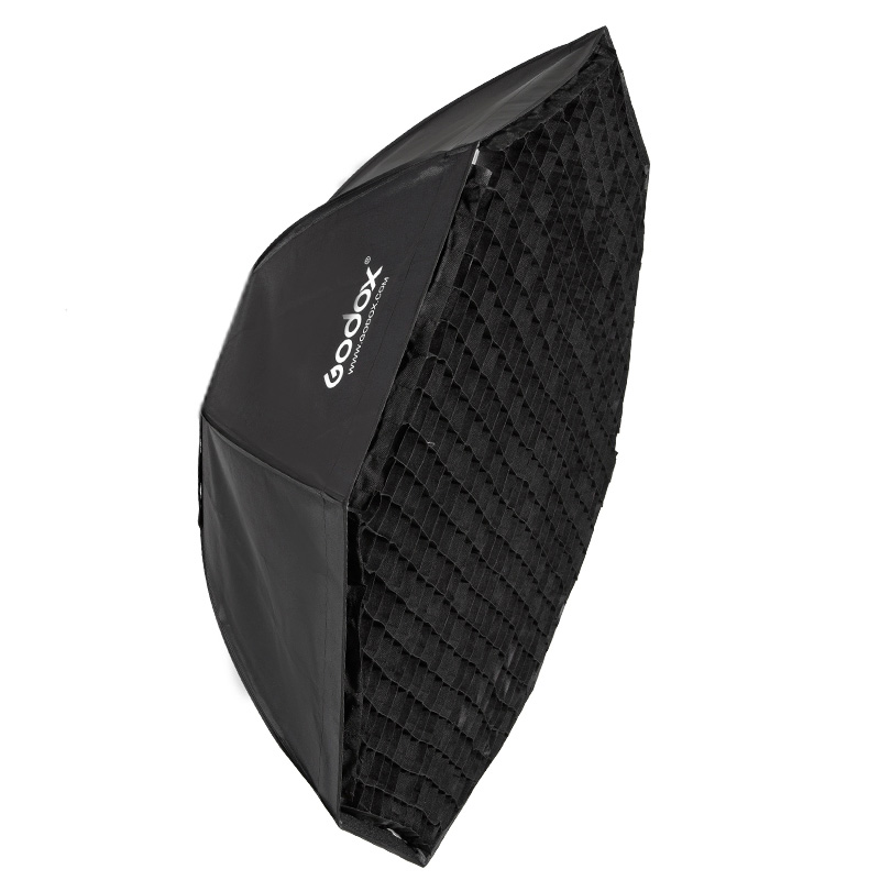 """Godox softbox 120cm 47"""" Octagon Honeycomb Grid Softbox soft box with Bowens Mount for Studio Flash-in Softbox from Consumer Electronics    3"""