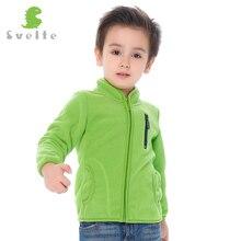 Svelte Brand Autumn Winter Children Boys Girls Unisex Polar Fleece Jackets Kids Soft Fur Outerwear Woolen Sweatshirt For Enfant