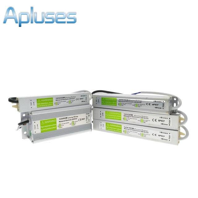 aliexpress com buy ip67 waterproof led driver dc12v lighting