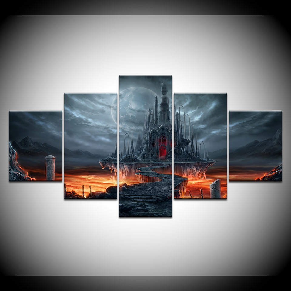 Aliexpress.com : Buy Canvas Painting The Elder Scrolls 5