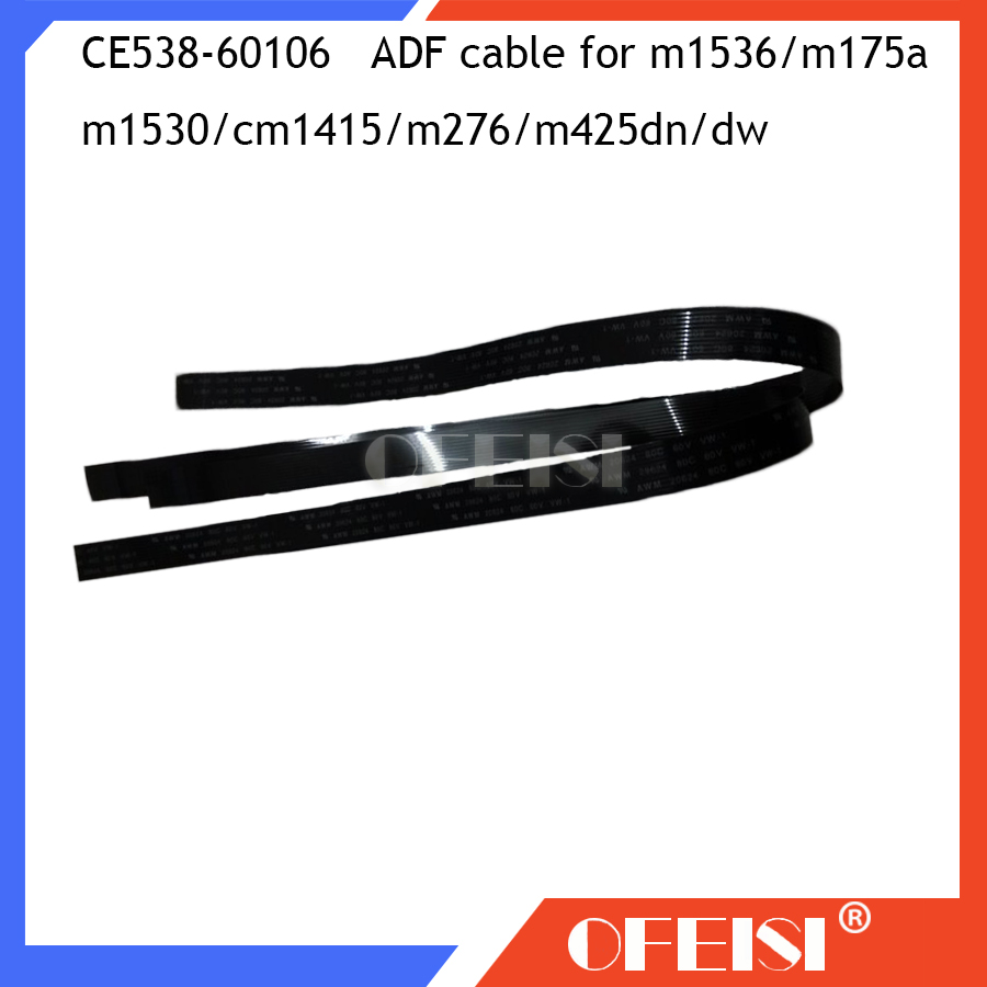 10X New CE538-60106 ADF Cable Feeder Cable For HP LaserJet Pro M1536dnf 1530dnf  M175NW 425MFP M175A CM1415 M276 M425dn Printer