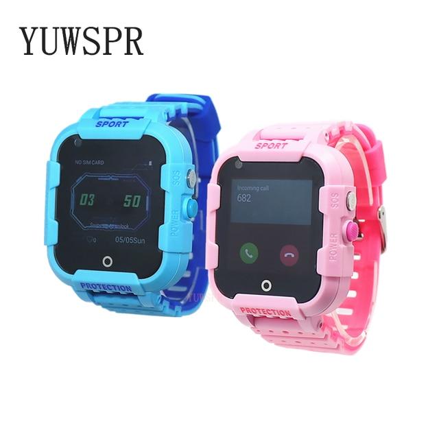 Kids GPS tracker 4G smart watch Video Call quad-core processor WiFi Hotspot GPS LBS WIFI Location Tracking child clock DF39 1PCS 2