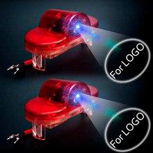 2pcs Car Styling For VW Golf 4 MK4 5 6 7 3D Logo Light Door LED Warning Ghost Shadow Lamp