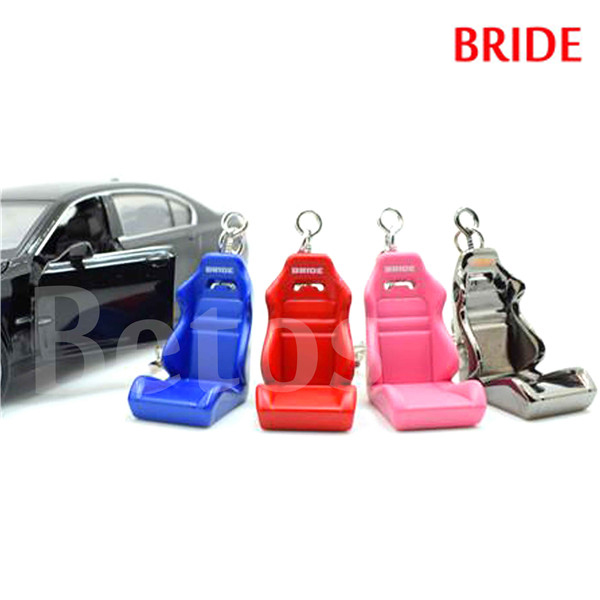 Auto BRIDE Keychain Zinc Metal Alloy Car Accessories Seat Chair ...