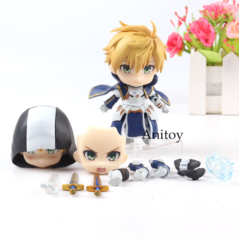 US $8 79 20% OFF|Nendoroid 842 DX Fate Prototype Saber King Arthur  Pendragon Ascension Ver  PVC Fate Nendoroid Figures Collection Model  Toys-in Action