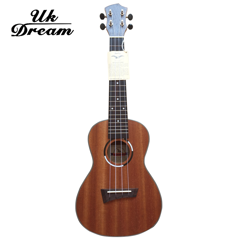 Ukulele Small Guitar Sapele 23 inch Open Knob Musical Stringed Instruments 4 Strings Guitar 17 Frets Ukulele Guitars UC-QUE1 23 inch full sapele heart shaped lettering guitar musical stringed instruments 4 strings guitar 18 frets ukulele guitarra uc 118