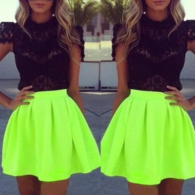 Floresent Dresses for Teens Fashion
